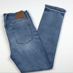 J Crew Point Sur Hightower Straight Jeans